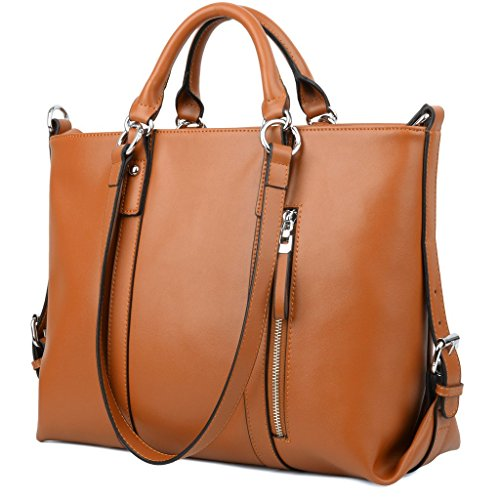 Amazing Womens Leather Tote Bag Mushroom  61638 | Leather Handbags