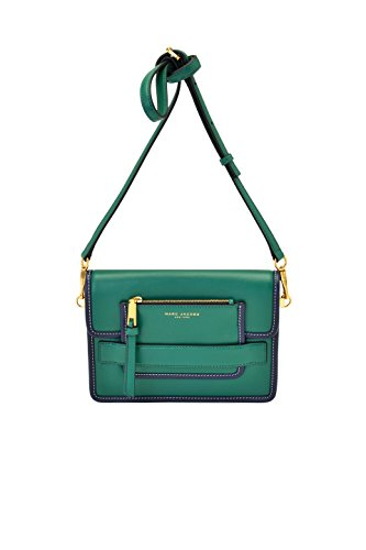 0eb007236ca4 Marc Jacobs Leather Madison Medium Shoulder Bag in Emerald Green ...