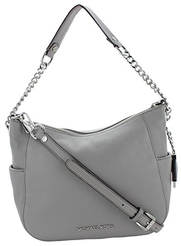 9eb844df53a1 Michael Kors Chandler Medium Women's Leather Shoulder Bag Handbag ...