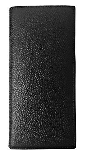 RFID Wallet Womens RFID Blocking Genuine Leather Bifold Slim Wallet Clutch Purse