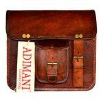 ADIMANI Vintage Leather Small Sling Bag 9Lx3Bx8H Inches Original Leather Handmade Women's Crossbody Bag