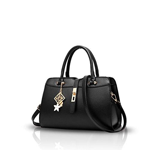 Nicole&Doris New Women/Ladies Handbag Shoulder Crossbody Bag Embossed Totes Fashion Quality PU Leather