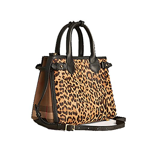 8cac0bf260d2 Tote Bag Handbag Authentic Burberry The Small Banner in Animal Print  Calfskin Item 39906891 Made in Italy