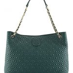 Tory Burch Marion Quilted Slouch Shoulder Bag, Jitney Green