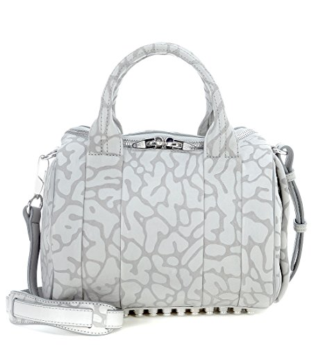 Alexander Wang Women's Alexander Wang Rockie Doctor Bag In Grey Spotted Leather Grey