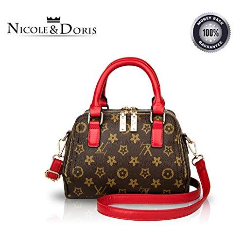 Nicole&Doris 2016 New stylish simplicity female motorcycle package handbag casual shoulder crossbody bag