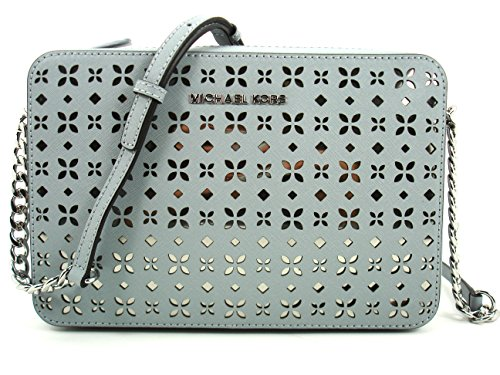 Michael Kors Jet Set Travel Large EW Flower Perforated