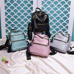 PU Leather Designer Mini Backpack Purse Handbag for Women and Girls