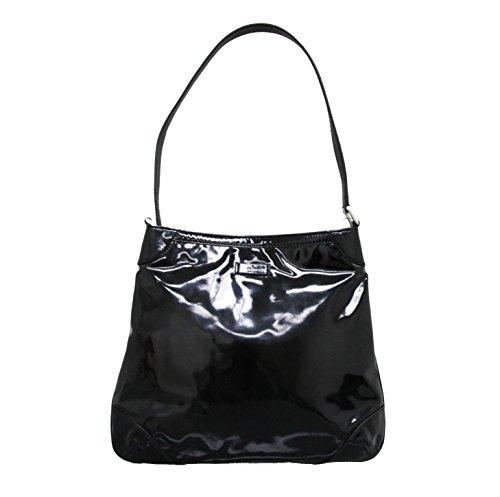 0ede96c7c901a Gucci Black Patent Leather Capri Handbag Hobo Shoulder Bag 257296 1000
