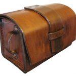 Vintage Valor Leather Goods: Quality Handmade Brown Leather Dopp, Shaving Kit, Travel Kit