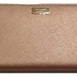 Kate Spade Newbury Lane Neda Clutch Wallet Rose Gold Saffiano Leather WLRU1498