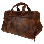 Genuine Leather Travel Bag Weekender Luggage Carry On Gifts for Men Women