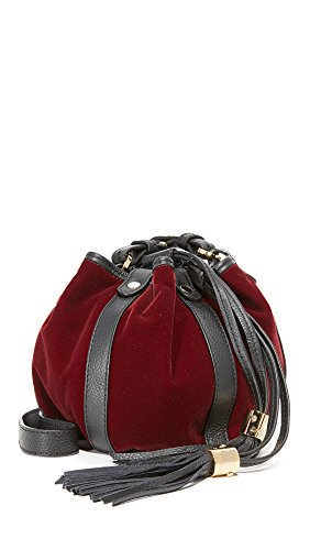 See by Chloe Women's Velvet Vicki Mini Bucket Bag