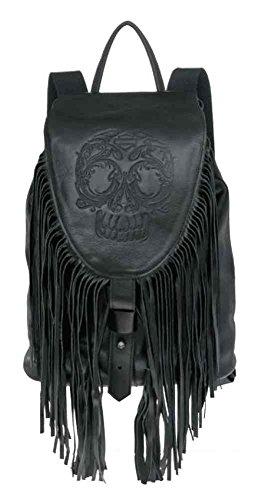 Harley-Davidson Women's Gypsy Sugar Skull Traveler Backpack, HDWBA10979-BLK