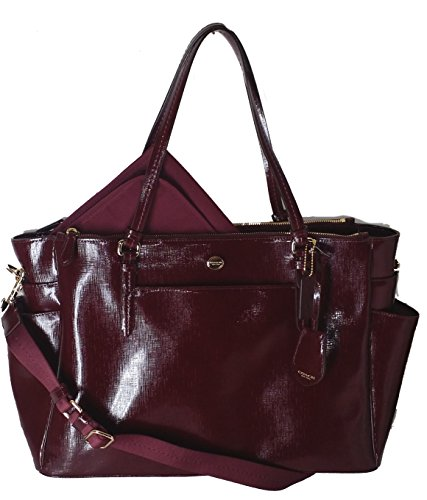 be6a4c3665186 Coach Peyton Saffiano Leather Multifunction Baby Diaper Travel Laptop Tote  Bag