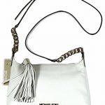 Michael Kors Weston Small Messenger White Small Leather Bag