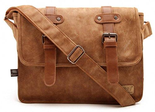 Good&god Mens Crossbody Messenger Bag Laptop Briefcase