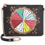 Betsey Johnson Kitsch Spinner Spinner Crossbody Bag