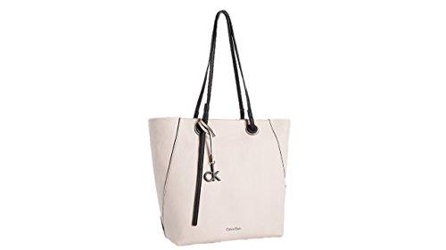 Calvin Klein kira north/south shopper tote bag mica w/black