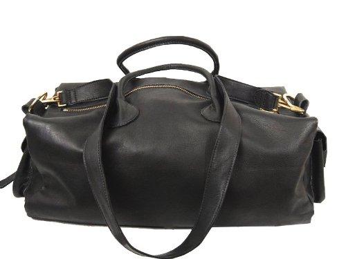 Luxury Leather Gym Bag