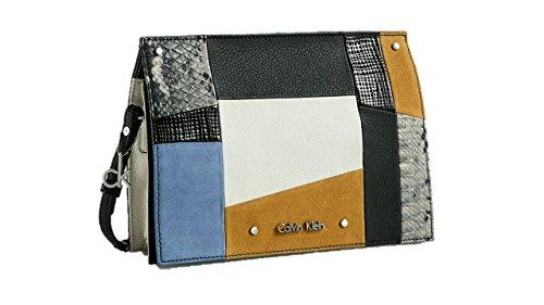 calvin klein womens davin city date bag shoulder bag multi color