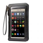 KISS GOLD(TM) PU Leather Touch Screen Women Shoulder Bag handbag Pouch Wristlet for Iphone 6s/6s Plus
