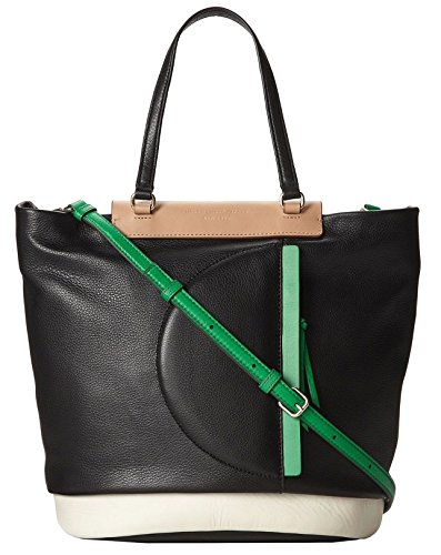 MARC by Marc Jacobs Round the Way Girl Leather Tote Shoulder Bag Black Multi