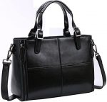 Kenoor Leather Tote Shoulder Messenger Bags Purse Handbags for Women
