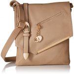 MKF Collection Jasmine Woman Stylish Vintage Crossbody Bag Fashion Flap over Handbag