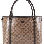 d0160f0d8a455b ... Gucci Women's Crystal Canvas Guccissima GG Joy Purse Handbag Tote ...
