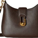 Marc Jacobs Women's Interlock Small Hobo Mahogany Handbag