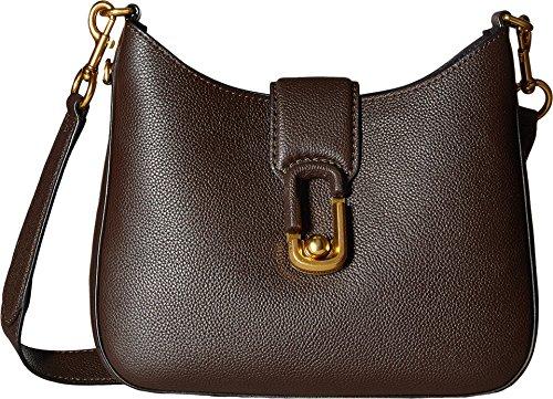 Marc Jacobs Women's Interlock Small Hobo Mahogany Handbag