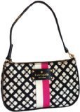 Kate Spade Classic Spade Linet Wristlet in Black & Cream