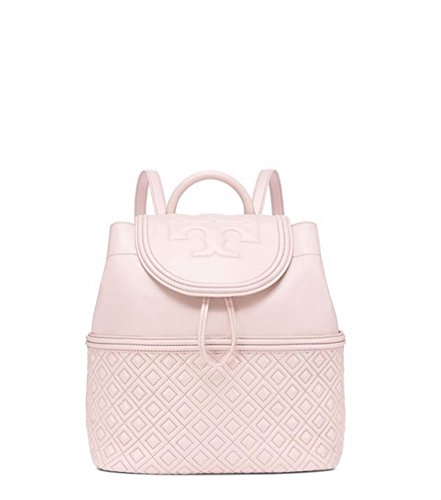 Tory Burch Fleming Quilted Leather Backpack, Bedrock