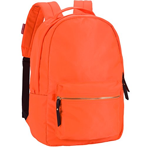 9d9a655baf92 HawLander Backpack Casual Daypack for Women School Bag for Girls –  Lightweight (Bright Orange)