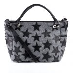 FEYNSINN shopper WILLOW - Purse felt & leather felt-black - handheld Purse