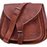 "Komal's Passion Leather 10"" Women's Leather Purse Satchel Handbag Tote Bag"