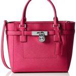 Michael Kors Hamilton Medium Top Zip Tote RASPBERRY