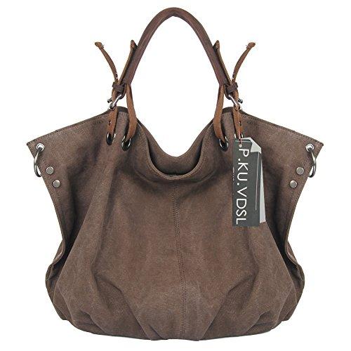 Leather Oversized Travel Bag
