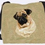 Pug Tote Bag - 17 x 17 Tote Bag by Pure Country