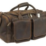 Claire Chase Distressed Hampton Duffel, Distressed Brown, One Size ClaireChase