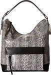 COACH Women's Bleecker Pinnacle Painted Snake Hobo White Handbag