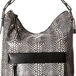 COACH Women's Bleecker Pinnacle Painted Snake Hobo White Handbag