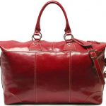 Floto Luggage Capri Duffle, Tuscan Red, Large