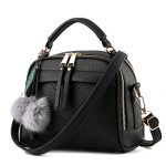 Fantastic Zone Women Leather Handbags Shoulder Bags Top-handle Tote Ladies Bags
