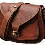 QualityArt Distressed Small Leather Purse Women Shoulder Bag Crossbody Satchel Ladies Tote Travel Purse Genuine Leather