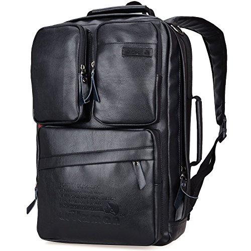 Witzman Men s Retro Canvas Casual Duffel Bag Travel Rucksack Backpack 6617  (23 inch 12499b5250b6c