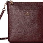 COACH Womens Crossgrain Leather Courier Crossbody