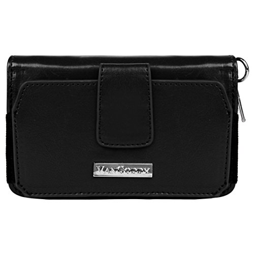 Vangoddy Women's Sahara Wristlet Zippered Wallet Clutch Pouch with Exterior Pocket