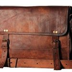 HandMadeCart Men's Auth Real Leather Messenger Laptop Briefcase Satchel Mens Bag